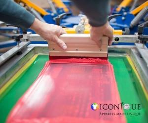 iconique - silk screen printing image1